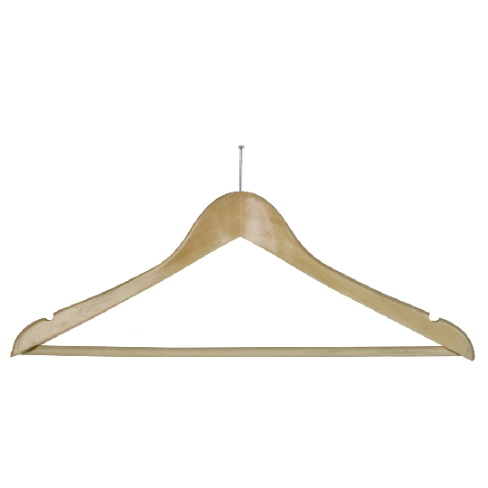 Anti-theft hanger with bar